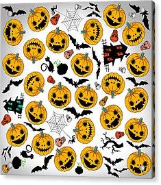 Halloween Party  Acrylic Print by Mark Ashkenazi