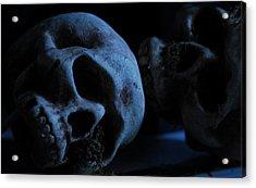 Halloween Skulls Acrylic Print by Craig Incardone