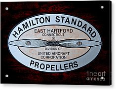 Hamilton Standard East Hartford Acrylic Print by Olivier Le Queinec