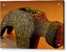 Hammer Without Handle Acrylic Print by Wilma  Birdwell