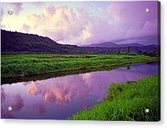 Hanalei Dawn Acrylic Print by Kevin Smith