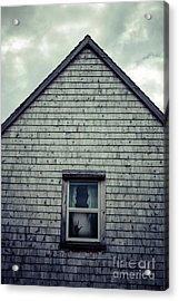 Hand In The Window Acrylic Print by Edward Fielding