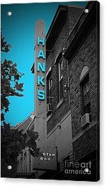 Hanks Oyster Bar Acrylic Print by Jost Houk
