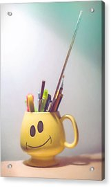 Happiness Is Acrylic Print by Scott Norris