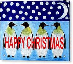 Happy Christmas 24 Acrylic Print by Patrick J Murphy