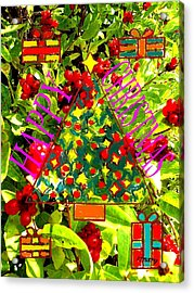 Happy Christmas 25 Acrylic Print by Patrick J Murphy
