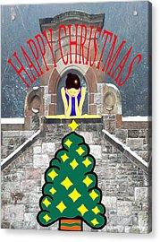 Happy Christmas 31 Acrylic Print by Patrick J Murphy
