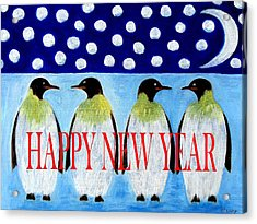 Happy New Year 5 Acrylic Print by Patrick J Murphy