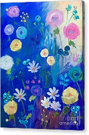 Happy Times Acrylic Print by Trilby Cole