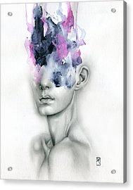 Harbinger Acrylic Print by Patricia Ariel