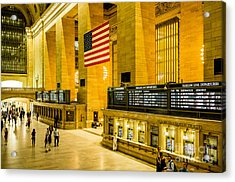 Acrylic Print featuring the photograph Grand Central Pride by M G Whittingham