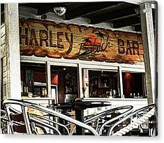 Harley Beach Bar Acrylic Print by Jasna Buncic