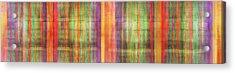 Harmony Stripes Acrylic Print by Ab Stract