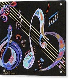 Harmony V Acrylic Print by Bill Manson