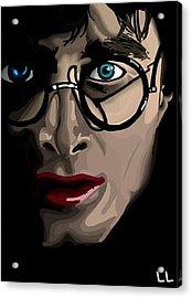 Harry Acrylic Print by Lisa Leeman
