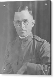 Harry Truman During World War One Acrylic Print by War Is Hell Store