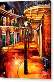 Harrys Corner New Orleans Acrylic Print by Diane Millsap