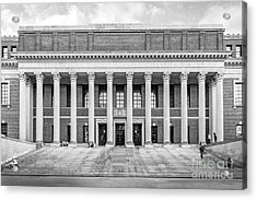 Widener Library At Harvard University Acrylic Print by University Icons
