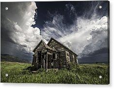 Haunted Acrylic Print by Peter Irwindale