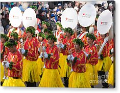 Hawaii All-state Marching Band I Acrylic Print by Clarence Holmes