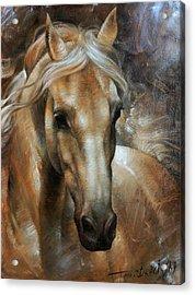 Head Horse 2 Acrylic Print by Arthur Braginsky