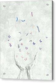 Heal Acrylic Print by Jacky Gerritsen