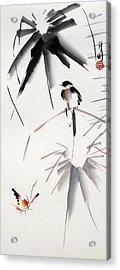 Hearing Rain  Acrylic Print by Ming Yeung