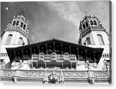 Hearst Castle Towers Acrylic Print by Matt Hanson