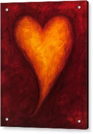 Heart Of Gold 2 Acrylic Print by Shannon Grissom