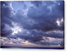 Heaven Acrylic Print by Angela Doelling AD DESIGN Photo and PhotoArt