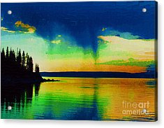 Heaven's Rest Acrylic Print by Diane E Berry