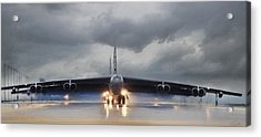 Heavy Weather Acrylic Print by Peter Chilelli