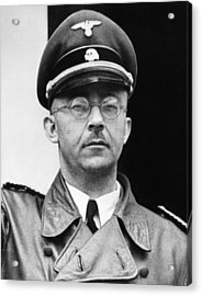Heinrich Himmler 1900-1945, Nazi Leader Acrylic Print by Everett