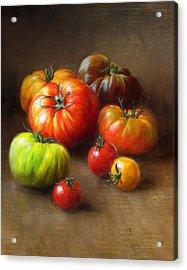 Heirloom Tomatoes Acrylic Print by Robert Papp