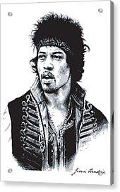 Hendrix No.02 Acrylic Print by Unknow