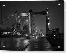 Hennepin Avenue Bridge Acrylic Print by Heidi Hermes