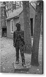 Henry David Thoreau House Walden Pond Concord Ma Acrylic Print by Toby McGuire