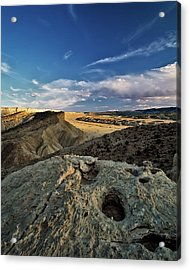 Henry Mountain Wsa Acrylic Print by Leland D Howard