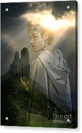 Her Realm Acrylic Print by Tammera Malicki-Wong