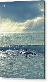Here Comes The Sun Acrylic Print by Laura Fasulo
