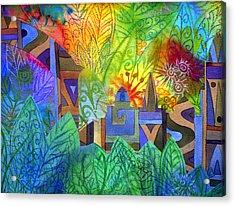 Hidden City Acrylic Print by Jennifer Baird