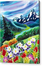 High Country Acrylic Print by Harriet Peck Taylor