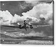 High Desert Dc-3 Acrylic Print by Peter Chilelli