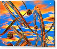 High Noon Acrylic Print by Scott Piers