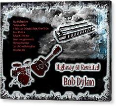 Highway 61 Revisited Acrylic Print by Michael Damiani