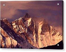 Himalayas At Sunset Acrylic Print by Pal Teravagimov Photography