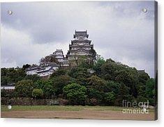 Himeji Castle Acrylic Print by Ei Katsumata