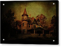 Historic House Acrylic Print by Joel Witmeyer