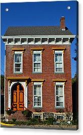 Historic Madison Row House Acrylic Print by Amy Lucid