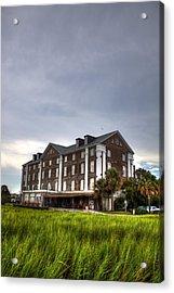 Historic Rice Mill Building Acrylic Print by Dustin K Ryan